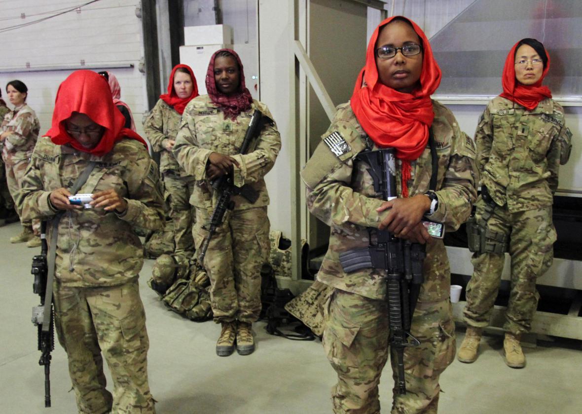 Americké vojačky v Afghánistánu