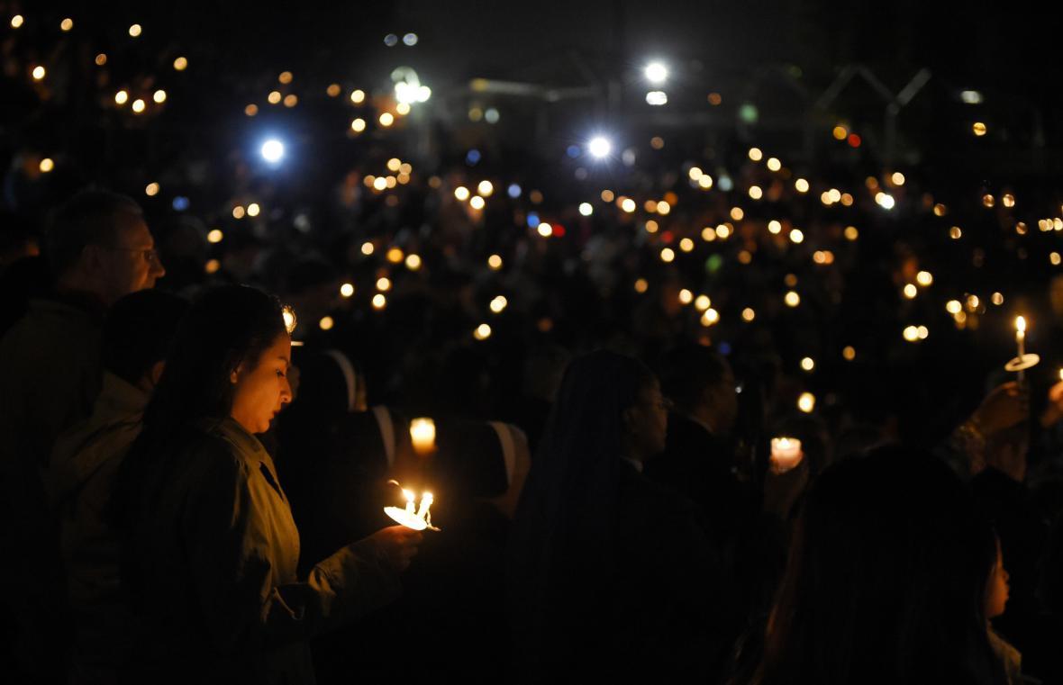 Pieta za oběti střelby v San Bernardinu