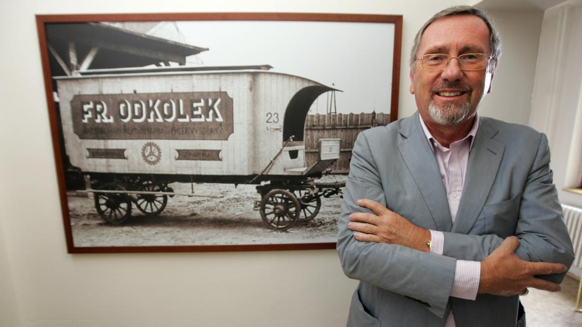 Spolumajitelem United Bakeries Marko Pařík