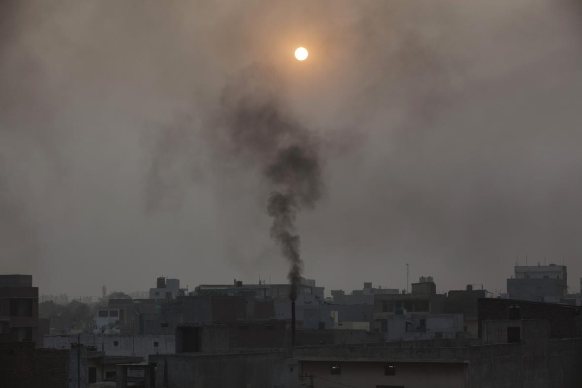 Smog v Novém Dillí