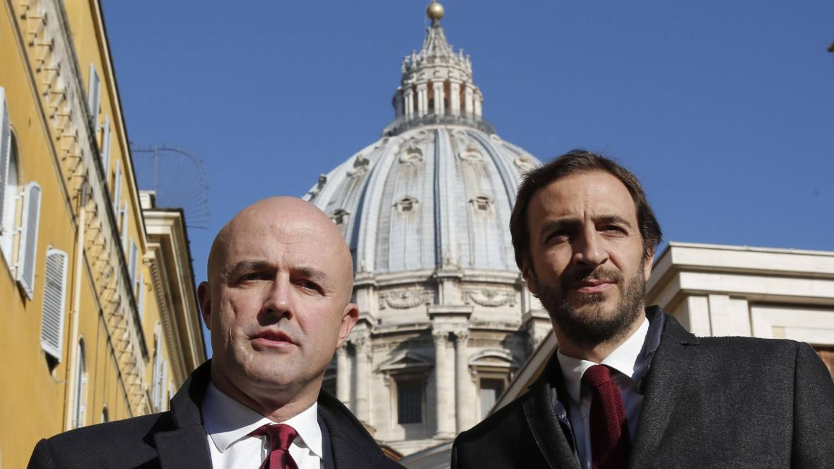 Gianluigi Nuzzi a Emiliano Fittipaldi