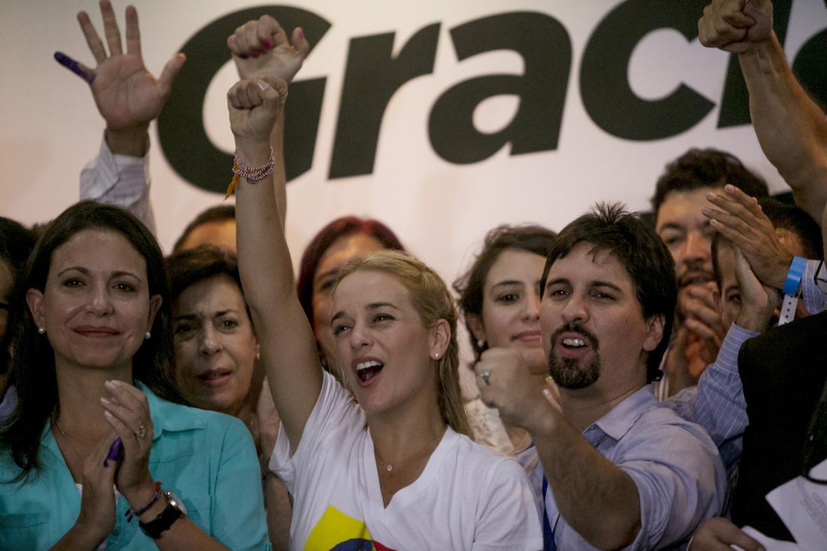 Vítězství venezuelské opozice