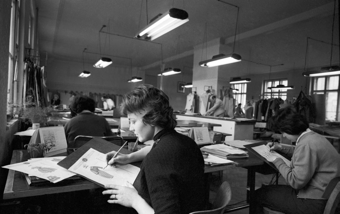 Návrhářky OP Prostějov - 1960