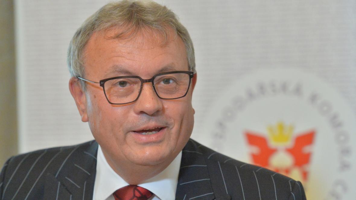 Prezident Hospodářské komory Vladimír Dlouhý