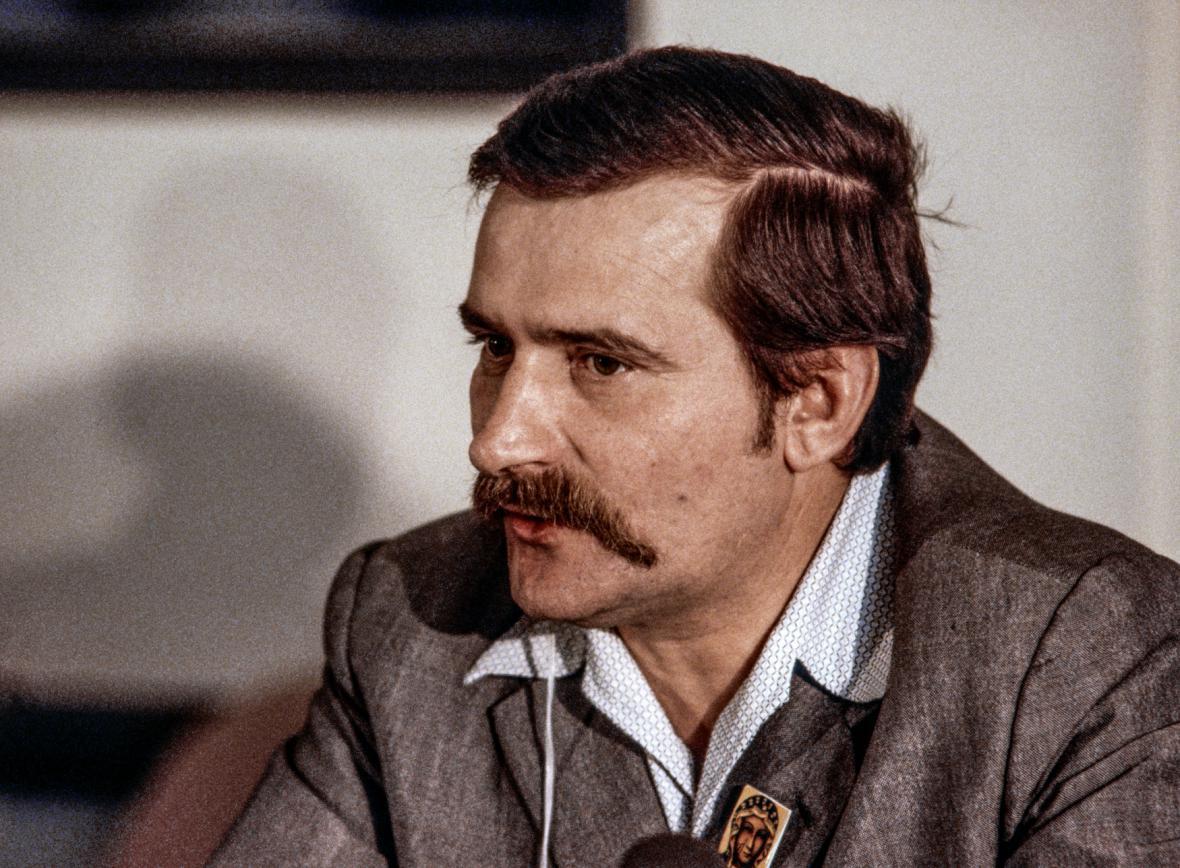 Lech Walesa v roce 1981