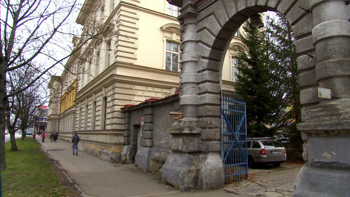 Bývalá vojenská správa v Českých Budějovicích