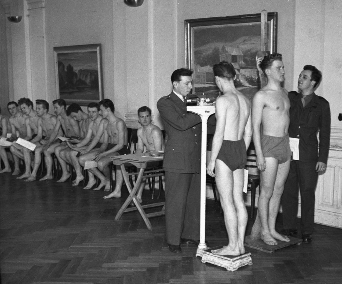Odvod v roce 1951