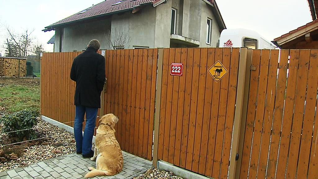 Dům v Libomyšli, kde bydlí Vladimír Huněk