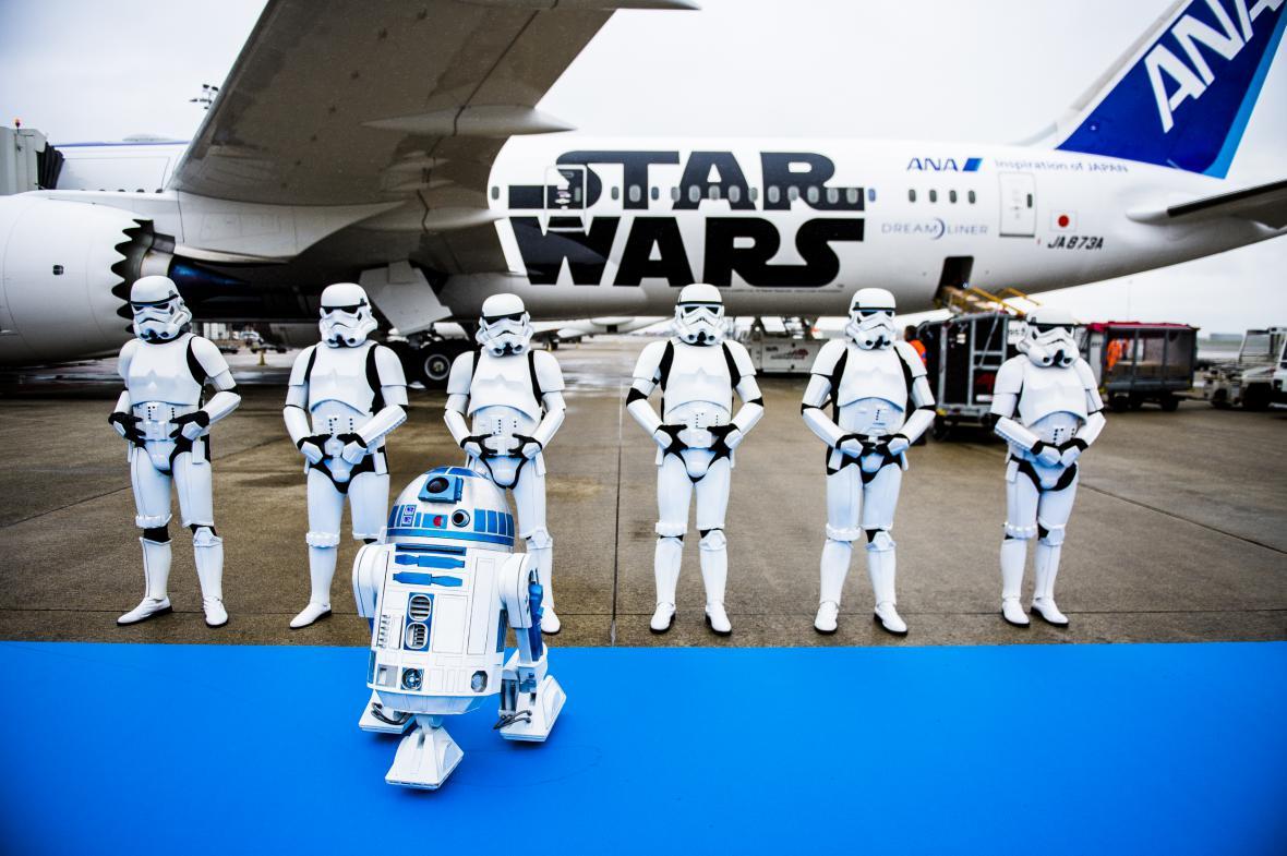 Nový model japonských aerolinek Star Wars
