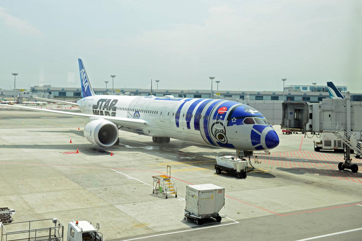 Boeing Dreamliner s motivy Star Wars