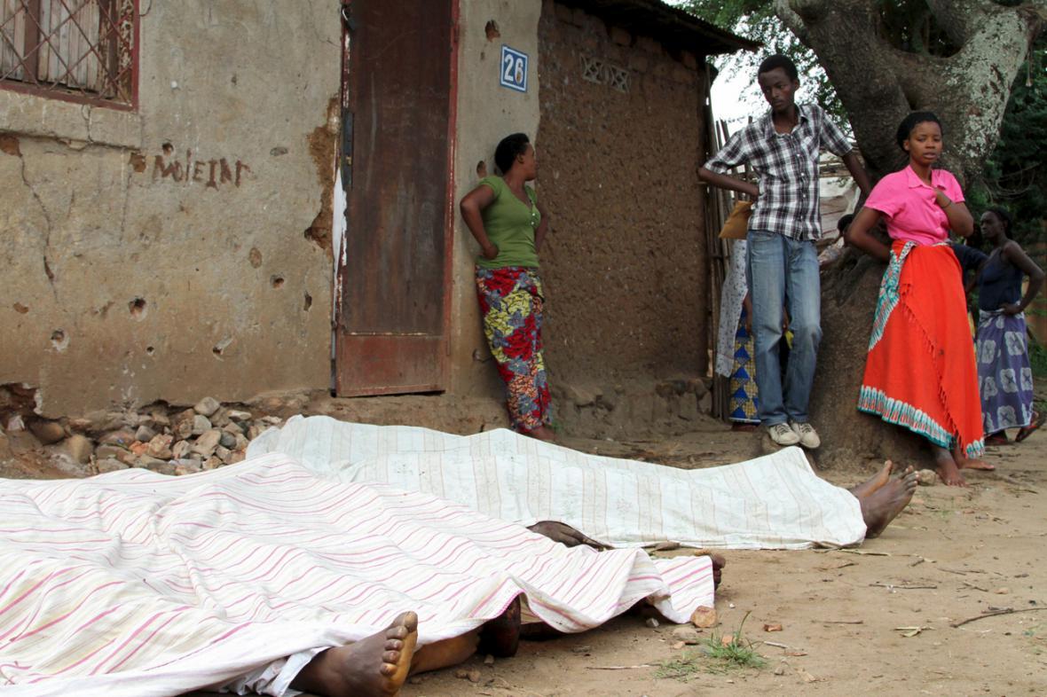 V Bujumbuře našli desítky těl