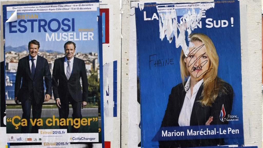 Kampaň před francouzskými regionálními volbami