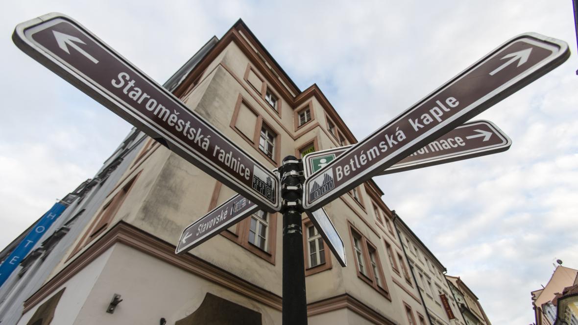 Turistika v Praze