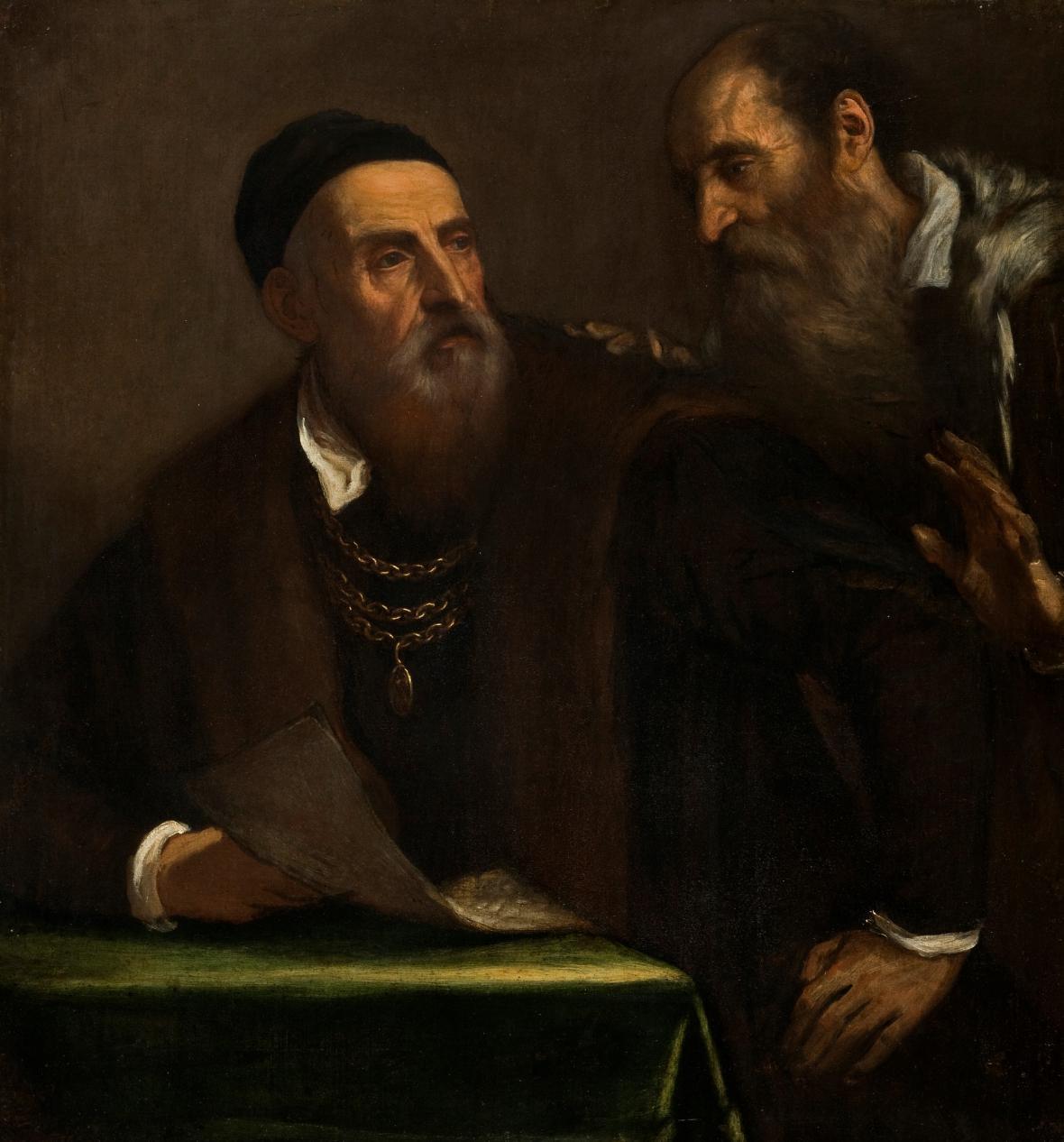 Autoportrét Tiziana s Francescem Zuccato