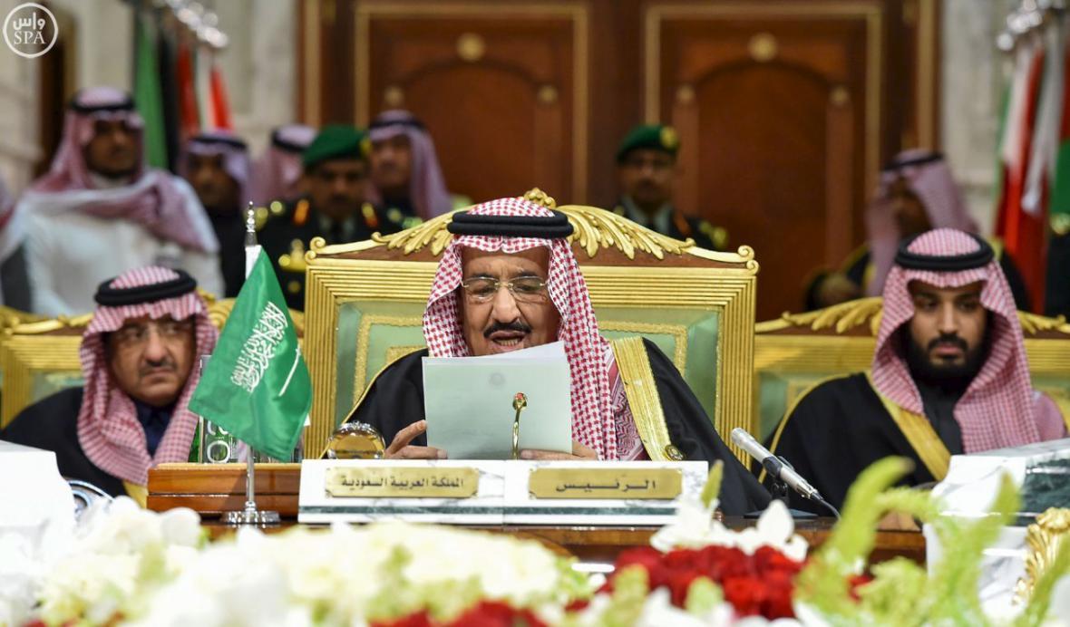 Saúdský král Salmán