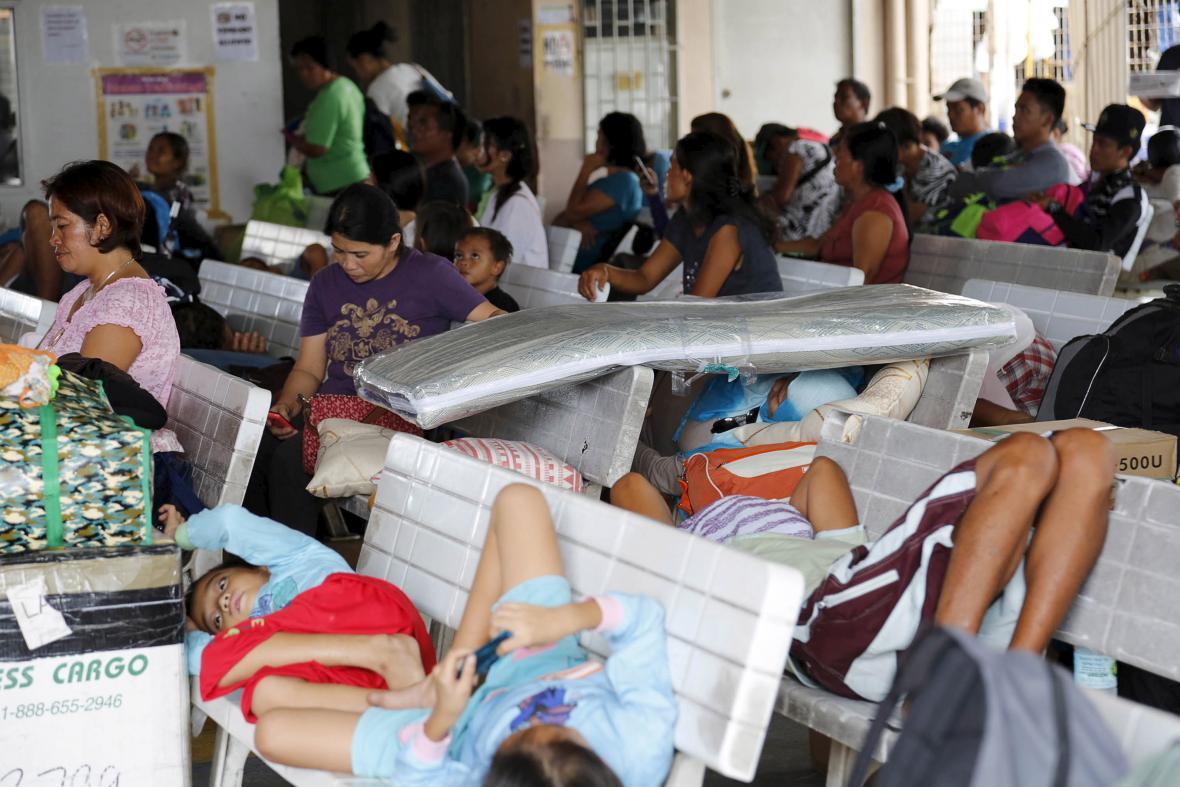 Evakuace Filipínců