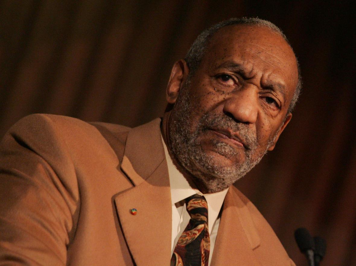 Americký herec Bill Cosby