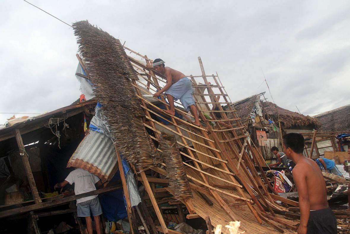 Tajfun Melor zasáhl Filipíny