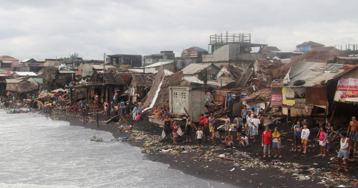 Filipíny pustoší tajfun Melor