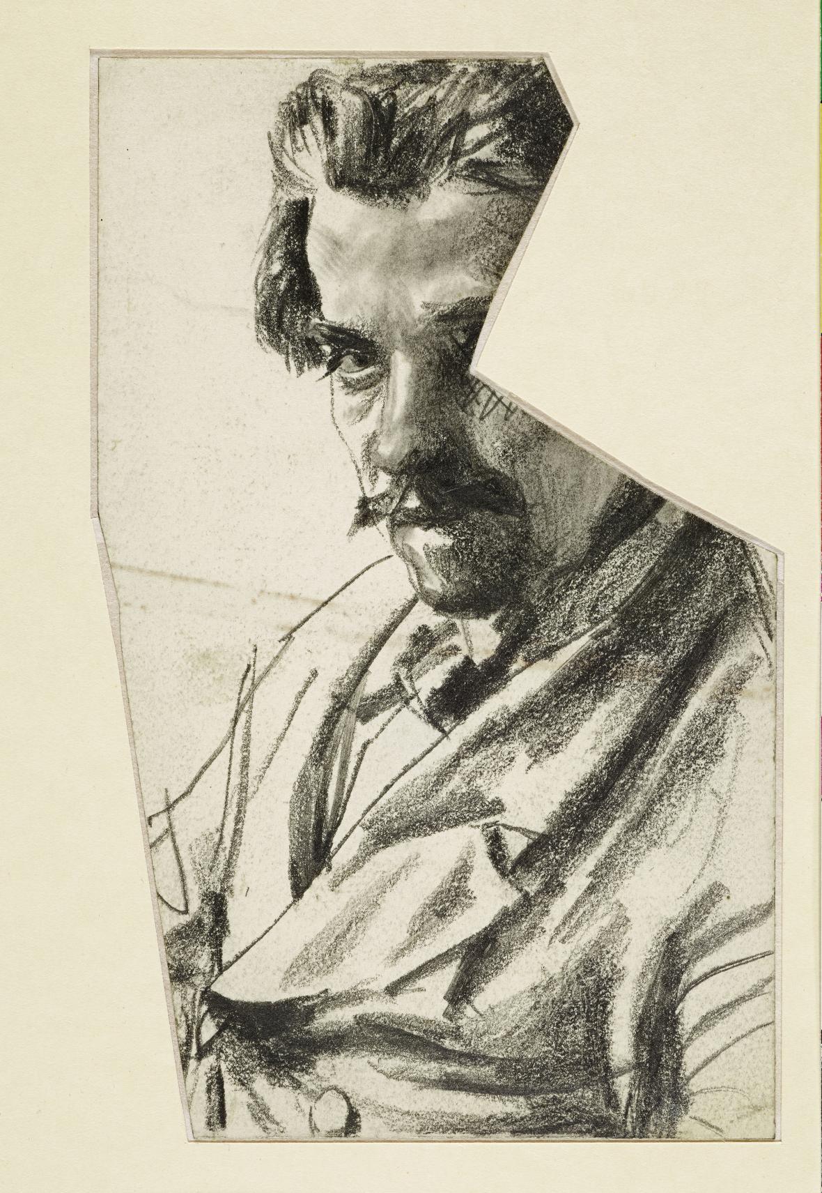 Adolph Menzel / Busta muže