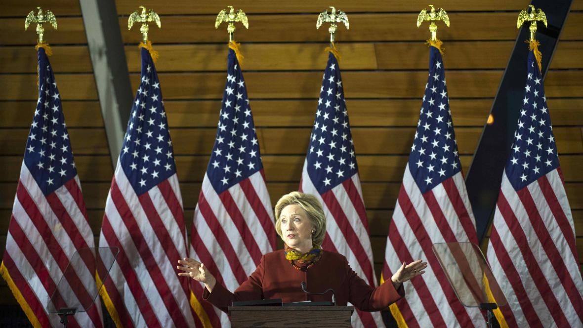 Hillary Clintonová představila v Minneapolis svou strategii boje proti terorismu