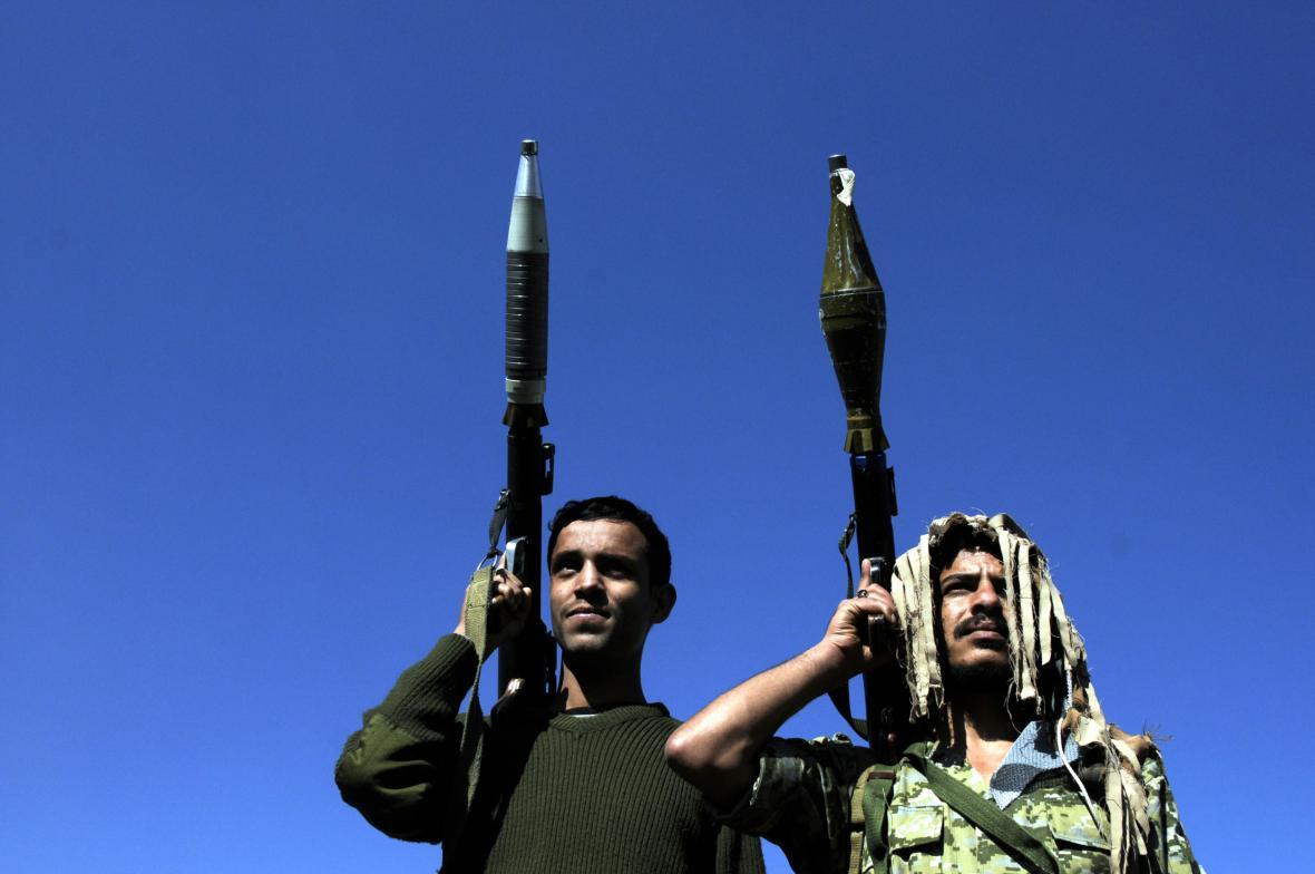 Členové šíitských milic