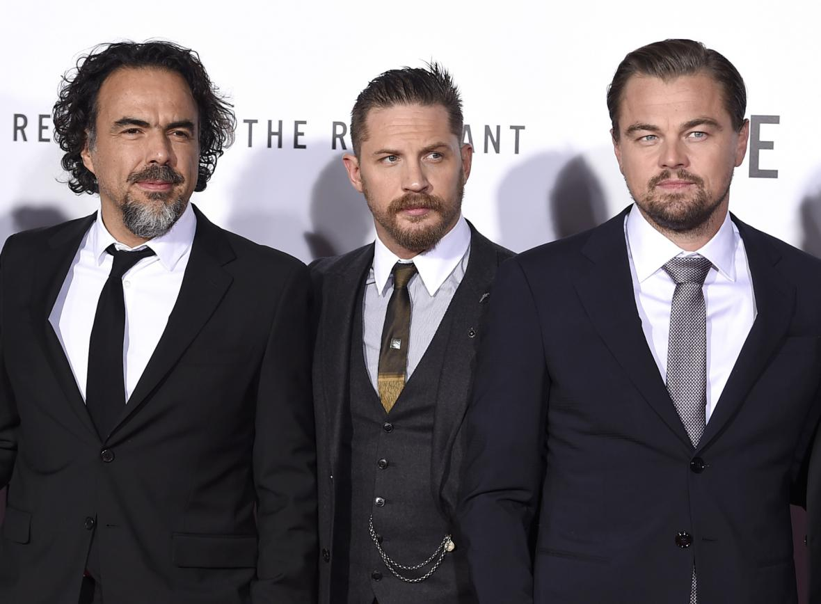 Alejandro González Iñárritu, Tom Hardy a Leonardo Dicaprio