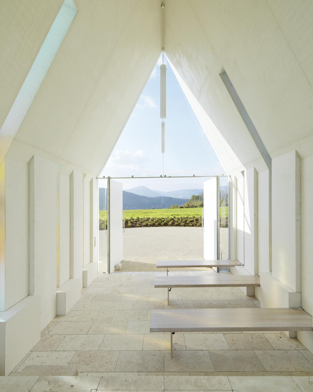 Privátní kaple Marie Magdaleny (Rakousko, architekt: Gerhard Sacher)