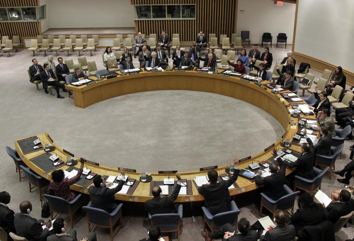 Zasedání Rady bezpečnosti