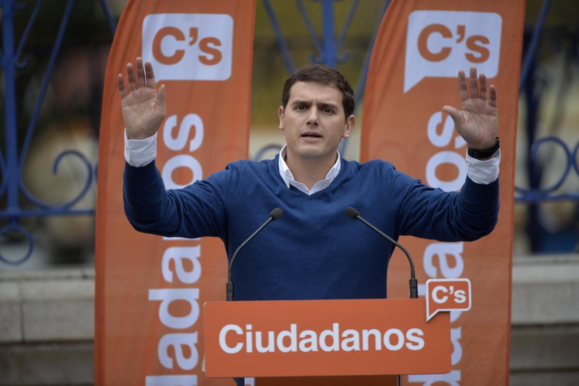 Lídr Občanů Albert Rivera