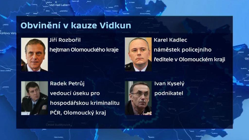 Obvinění v kauze Vidkun