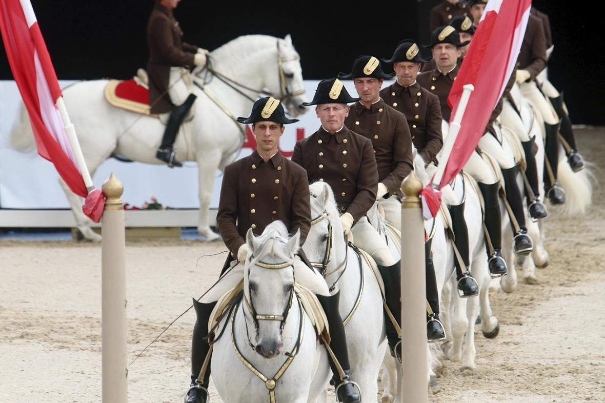 Španělská jezdecká škola ve Vídni