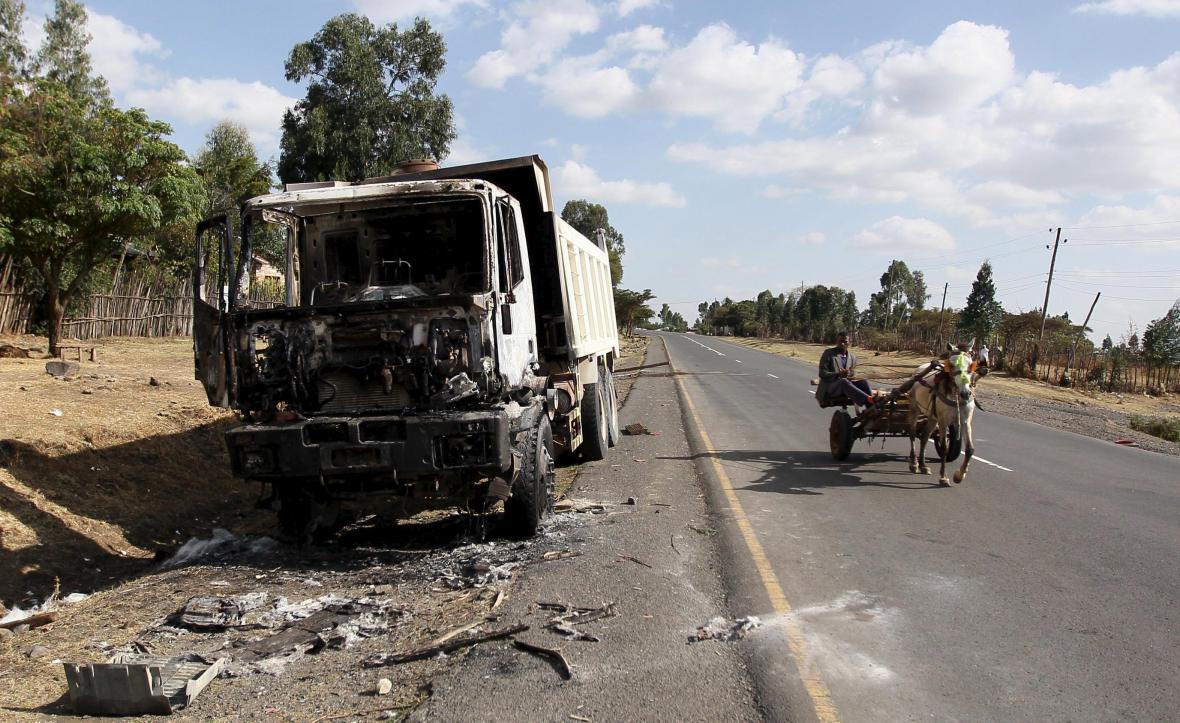 Etiopie po protestech