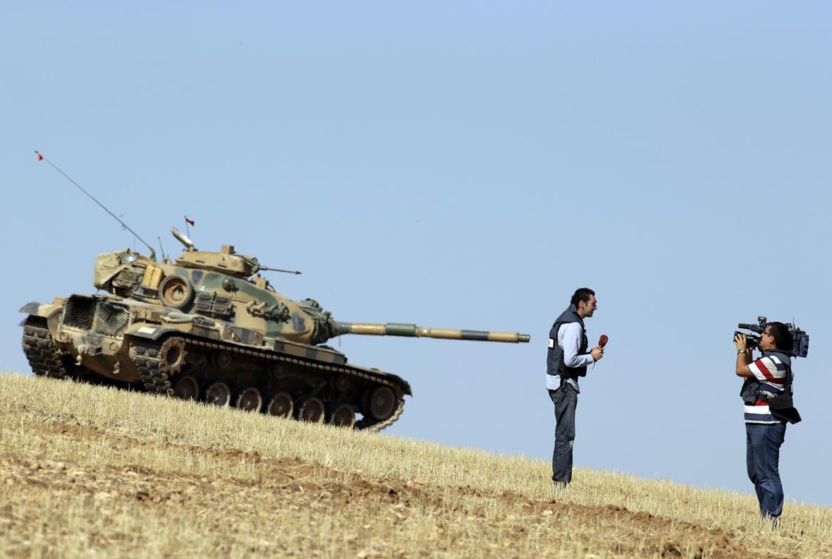 Reportáž ze syrsko-turecké hranice