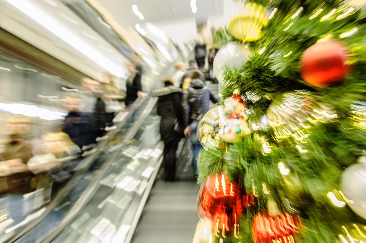 Předvánoční nákupy