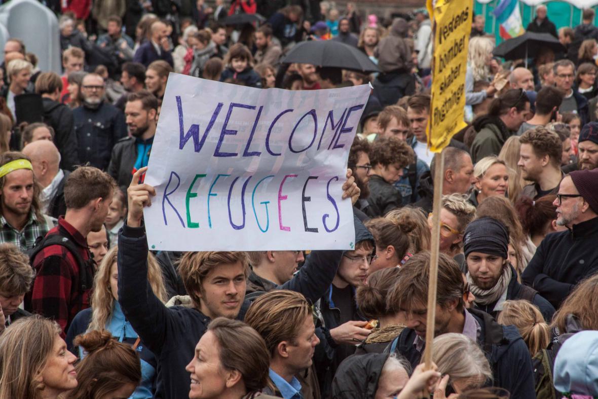 Prouprchlická demonstrace v Dánsku