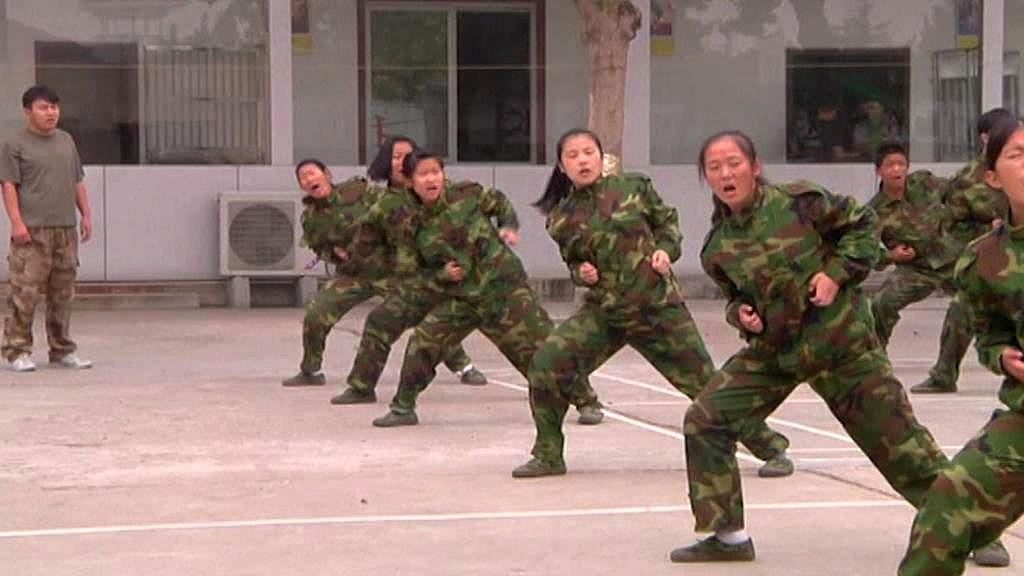 Odvykací tábor pro Číňany závislé na internetu