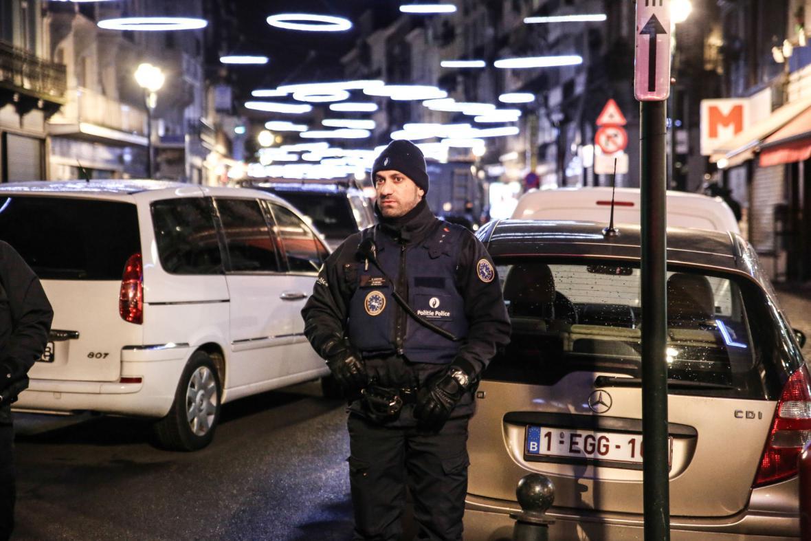Zátah v Bruselu