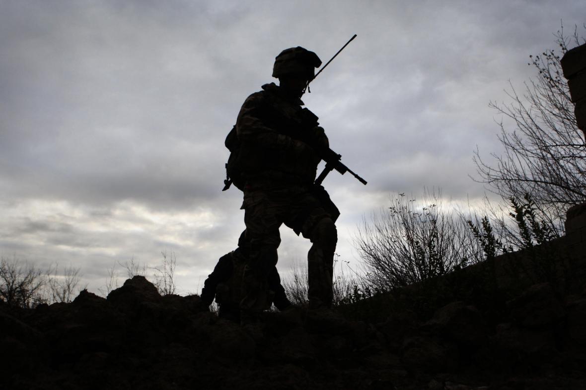 Britské jednotky v Afghánistánu