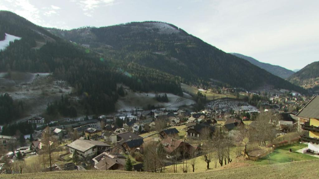 Teplé počasí v rakouských Alpách