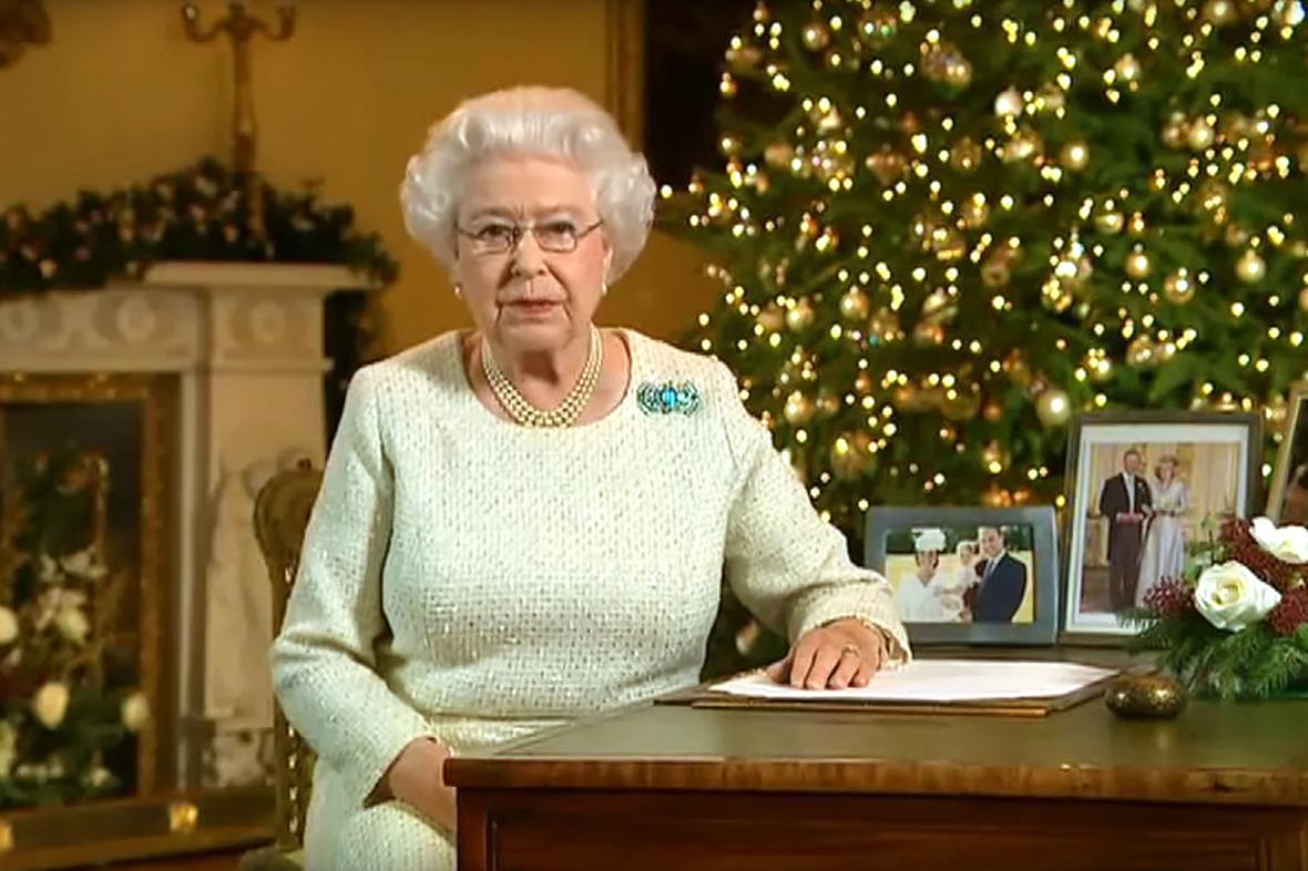 Vánoční projev Alžběty II.