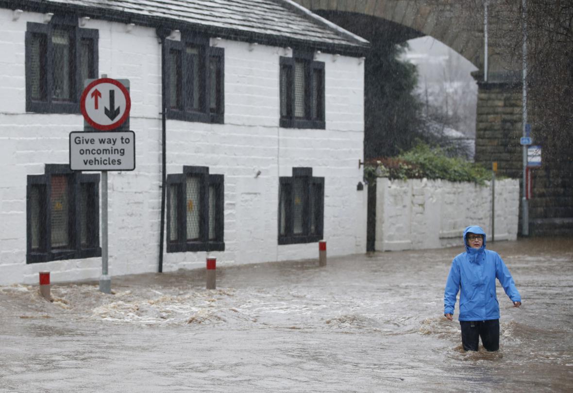 Povodně v Británii