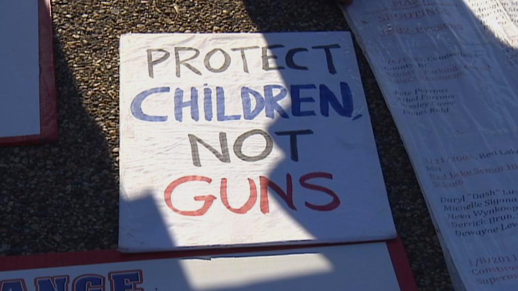 Protesty proti zbraním v USA