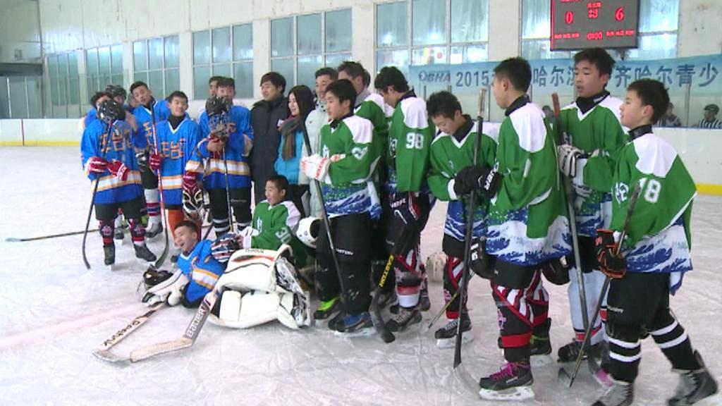 Čínští hokejisté