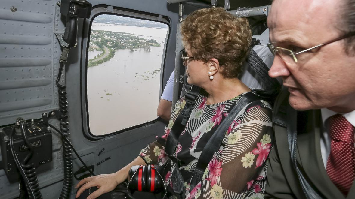 Brazilská prezidentka Dilma Rousseffová