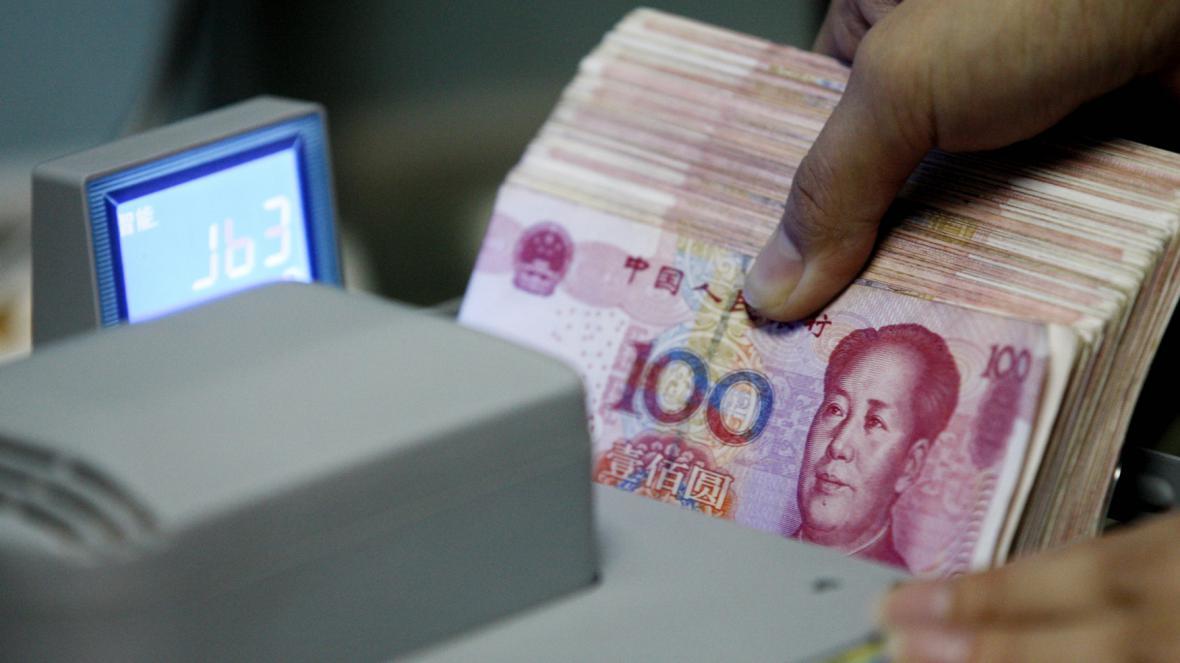 Čínské bankovky