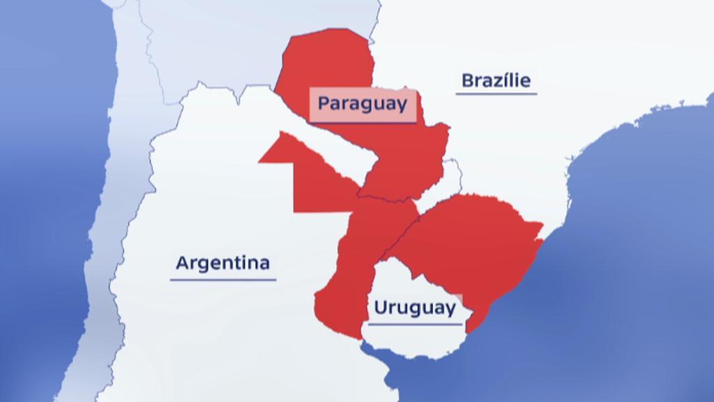 Státy jižní Ameriky zasažené povodněmi