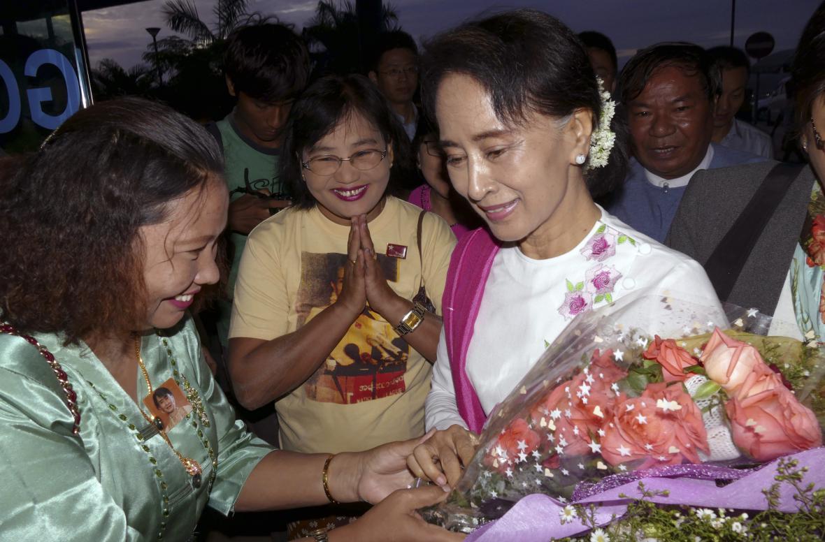 Su Ťij zvítězila v demokratických volbách.
