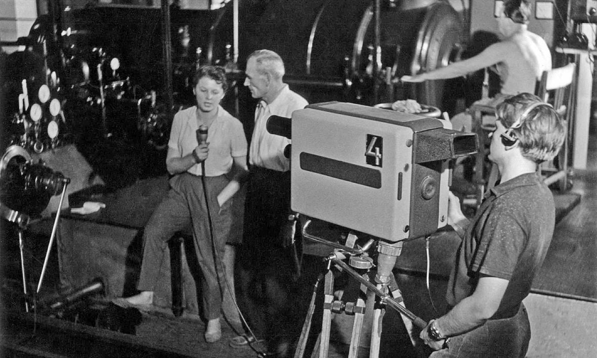 Zpravodajství z ostravské televize (1963)