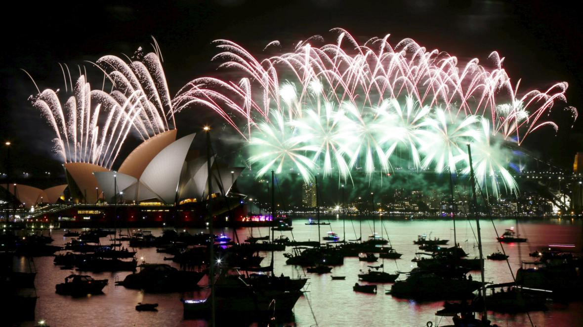 Oslavy Nového roku 2016 v Sydney